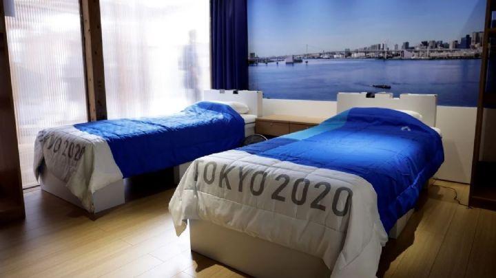 ¡Por si las dudas! Los Juegos Olímpicos de Tokio 2020 contarán con 'camas anti sexo'