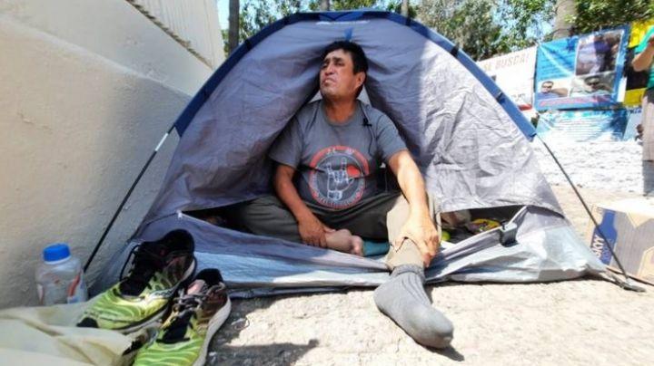 Desaparece José Eloy: Caminaba a la CDMX para buscar a su hijo desaparecido en 2014