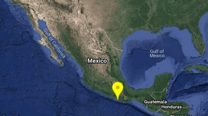 SSN registra sismo de magnitud 4.6 en Oaxaca; el epicentro fue en Pinotepa Nacional