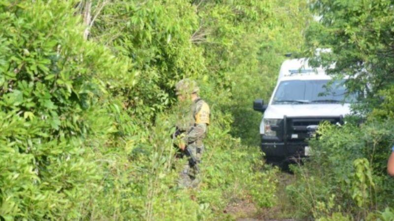 Fiscalía de Quintana Roo encuentra restos humanos en una fosa clandestina de Cancún