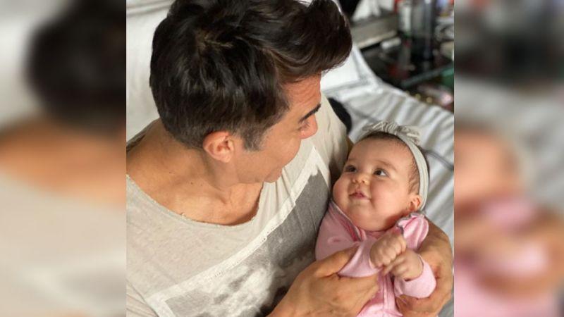 ¿Le dará su lugar en Televisa? Adrián Uribe ya planea el futuro de su pequeña hija Emily