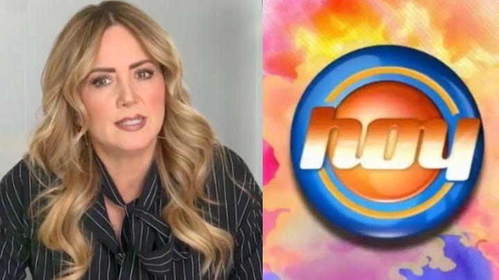 ¡Bomba en Televisa! Legarreta habla de más en 'Hoy' y exhibe romance entre actor 'casado' y conductora