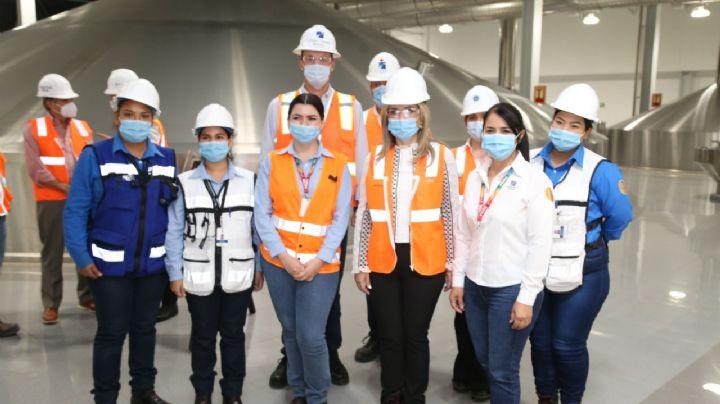 Constellation Brands aumenta empleos en Ciudad Obregón, asegura Claudia Pavlovich