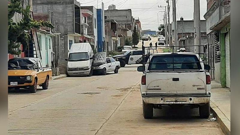 Taxista pierde la vida al ser acribillado por calles de Zacatecas; estaba en servicio