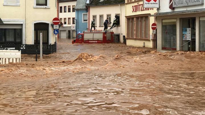 FUERTES VIDEOS: ¡Horror en Europa! El número de decesos por inundaciones supera las 125 víctimas