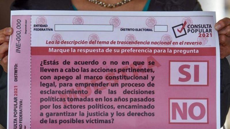 INE niega que intente boicotear la Consulta Popular; pide a ciudadanía no confundirse con la pregunta