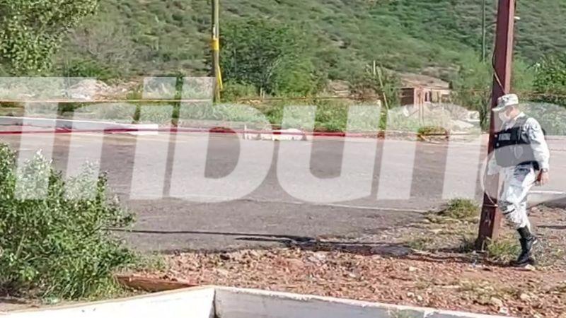 Gatilleros le arrebatan la vida a un hombre al norte de Guaymas; se desconoce su identidad