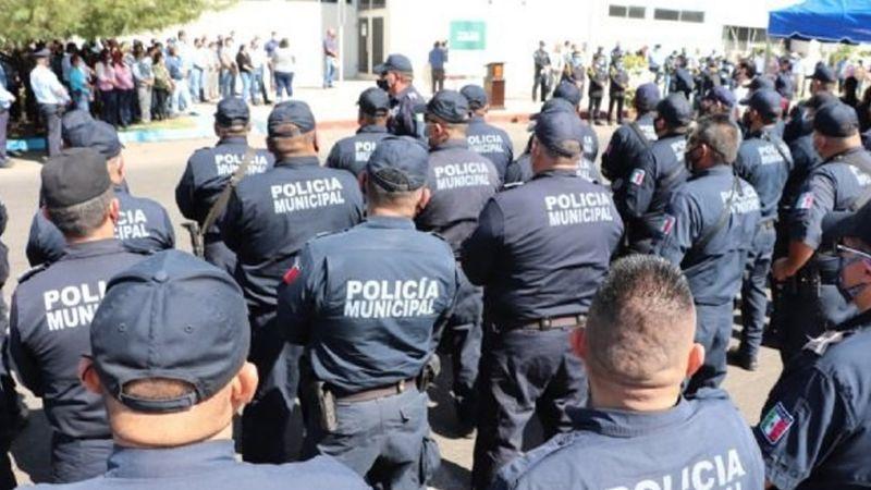 Cajeme: Elementos de la Policía Municipal son víctimas de brote Covid-19; culpan a Cándido Tarango