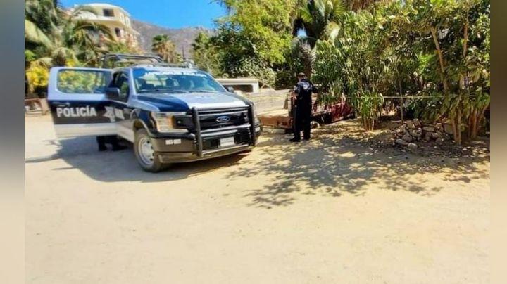 En plena vía pública, es encontrado el cuerpo de una persona sin vida; estaba en situación de calle
