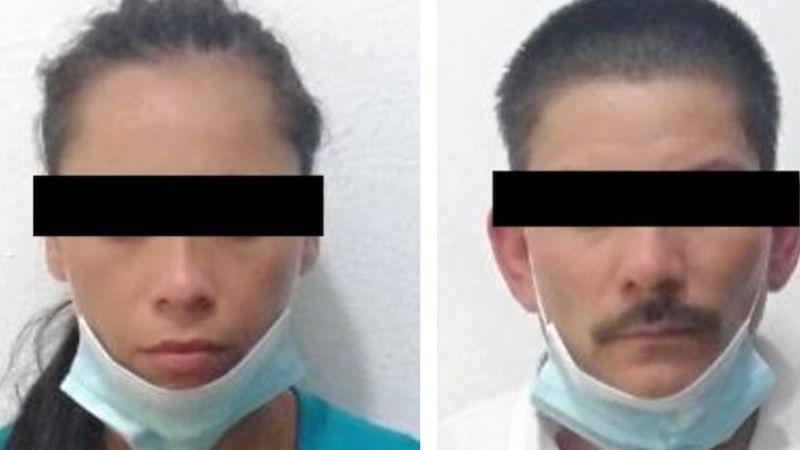 Caen dos presuntos 'tiradores' en Hermosillo; les aseguraron 63 envoltorios de droga