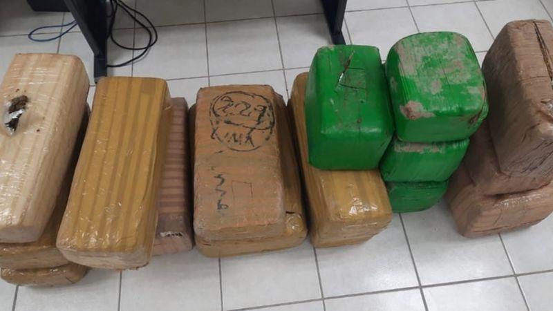 Hallan 80 kilos de marihuana en carretera de San Luis Río Colorado; fueron abandonados