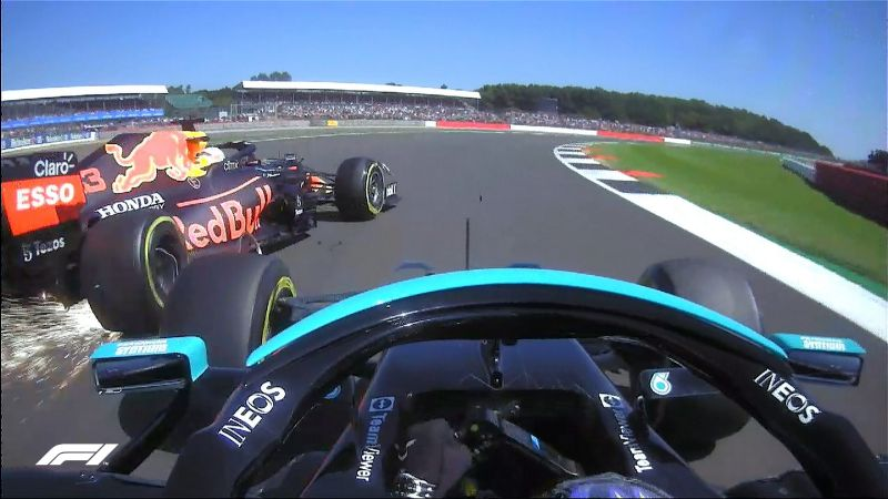 (VIDEO) Fórmula 1 GP de Gran Bretaña: Así fue el brutal choque entre Hamilton y Verstappen