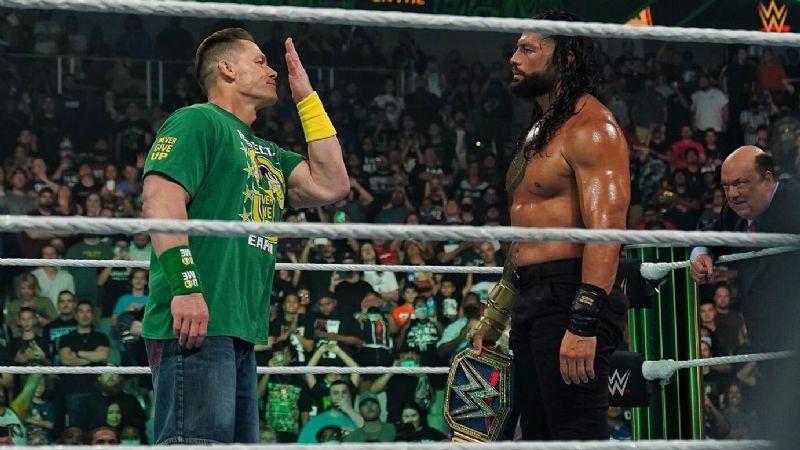 ¡Vuelve Cena! El Marine está de regreso en el universo de la WWE  y va tras Roman Reigns