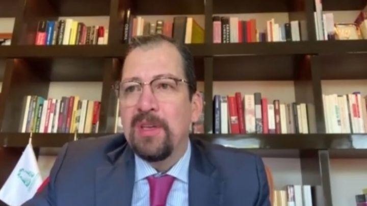 Por irregularidades en Hacienda, denuncian ante la FGR a José Luis Vargas, presidente del Tepjf