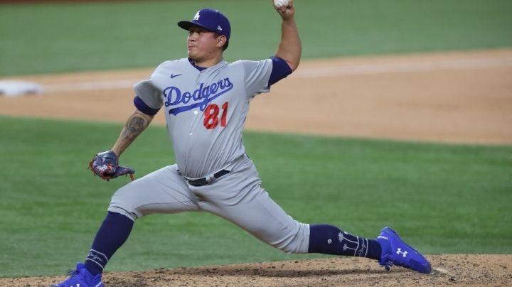 ¡De vuelta al diamante! Los Dodgers activan al zurdo mexicano Víctor González