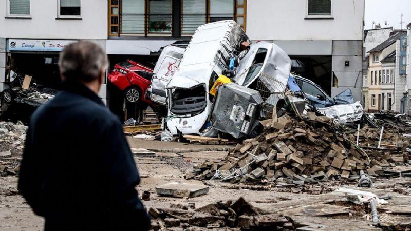 VIDEO: ¡Tragedia en Europa! Las fuertes inundaciones toman la vida de más de 200 personas
