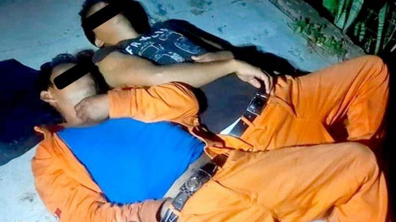 Empleados de Dos Bocas desatan el pánico al ser localizados ahogados; solo estaban alcoholizados