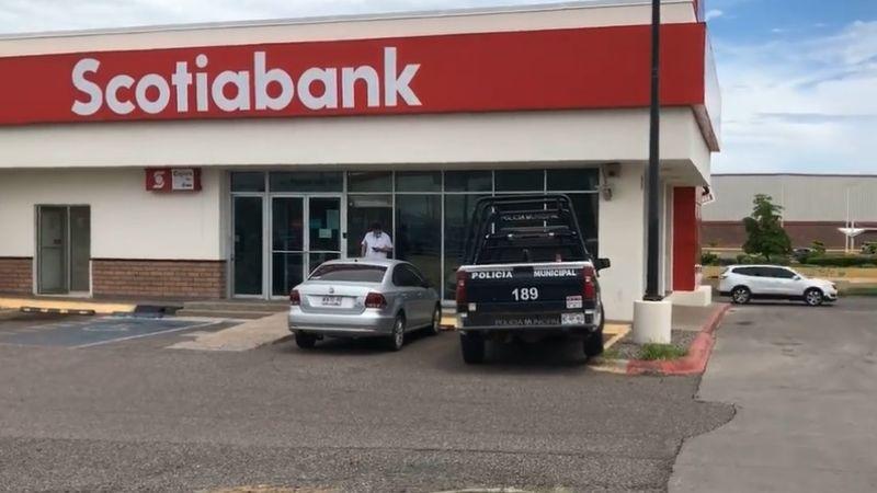 A punta de pistola, un hombre asalta una sucursal bancaria de Hermosillo