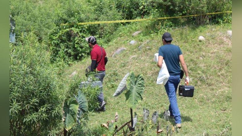Sin consideración alguna, joven es asesinado en el monte; su cabeza fue aplastada con una roca