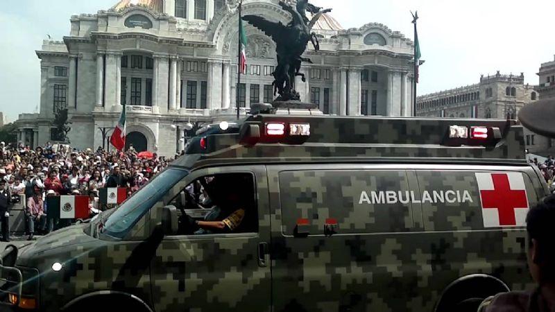 CDMX: Muere motociclista tras ser embestido por ambulancia de Sedena
