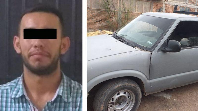 Agarran a Brayan Alberto al sur de Ciudad Obregón por conducir auto con reporte de robo
