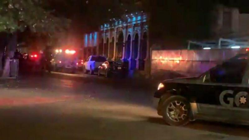 En pleno Centro Histórico de Hermosillo asesinan a un hombre; lo acribillaron frente a su novia