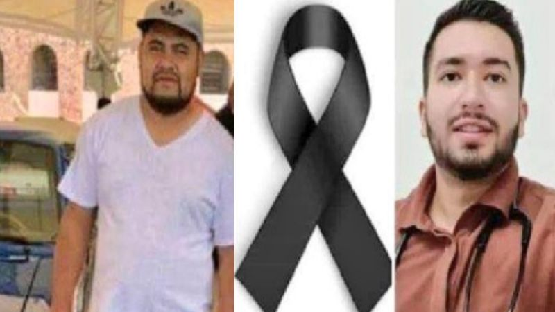 Uno tenía 24 años: Fernando y Octavio, paramédicos asesinados por el narco; atendían a rival herido