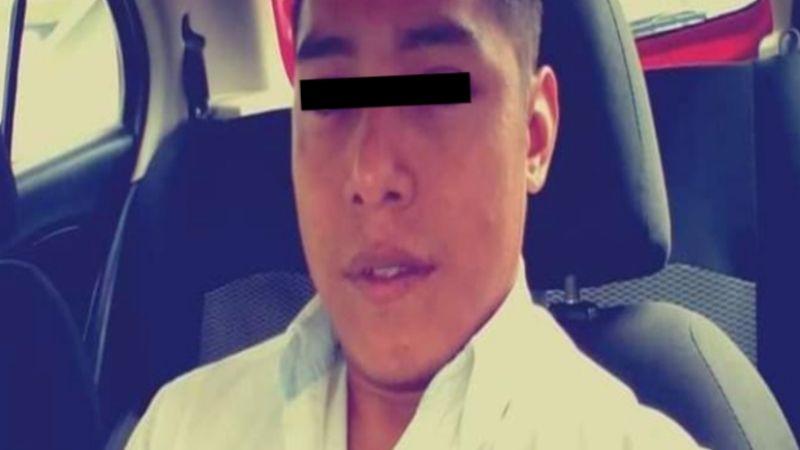 FUERTES IMÁGENES: 'Levantan' y descuartizan a Filiberto, taxista de 29 años; dejan 'narcomensaje'