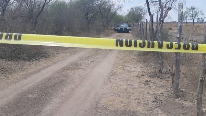 Macabro hallazgo: Junto a camino de terrecería, hallan cadáver en Choix, Sinaloa