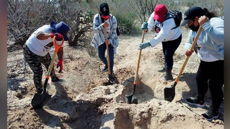 Colectivo hallan los restos de Edgar Díaz en fosa clandestina; estaba desaparecido desde 2017