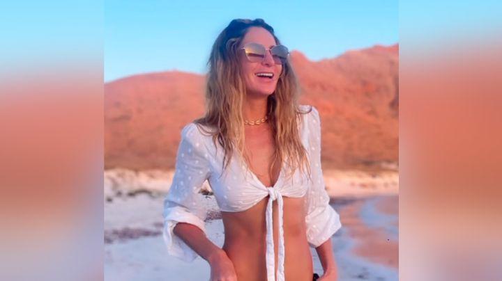 """Geraldine Bazán deja en shock a Instagram al lucirse con coqueto 'outfit' de verano: """"Mamacita"""""""