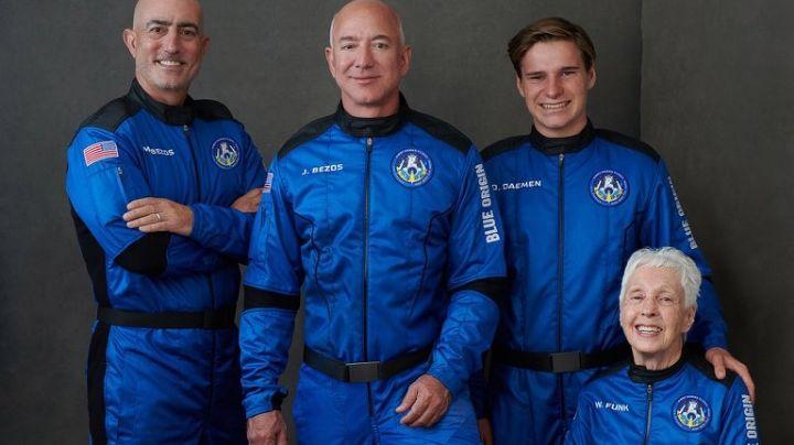 (IMÁGENES) Blue Origin: Así fue el increíble viaje al espacio de Jeff Bezos, exCEO de Amazon