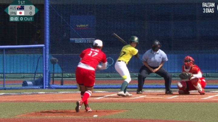 ¡Arranca Tokio 2020! Softbol pone en marcha Olímpicos, con 1 año de demora