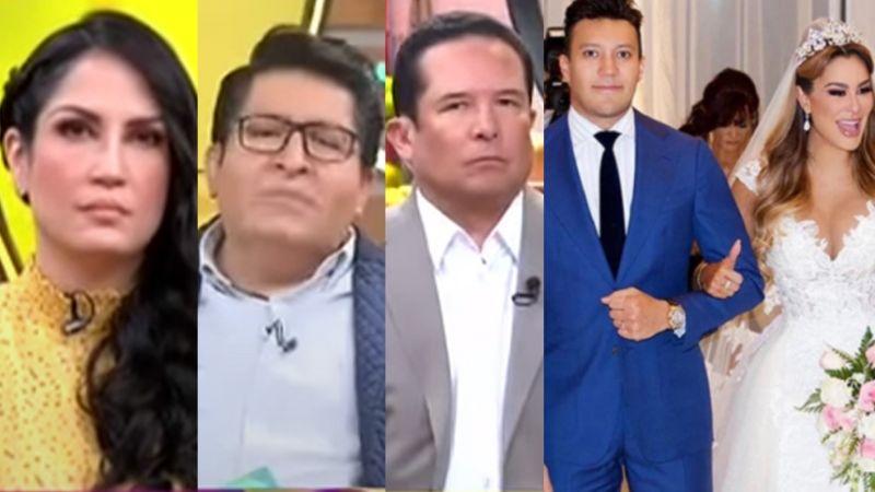 """""""Sinvergüenza, rufián"""": Kaffie y elenco de 'Sale el Sol' destrozan a Larry Ramos y a Ninel Conde"""