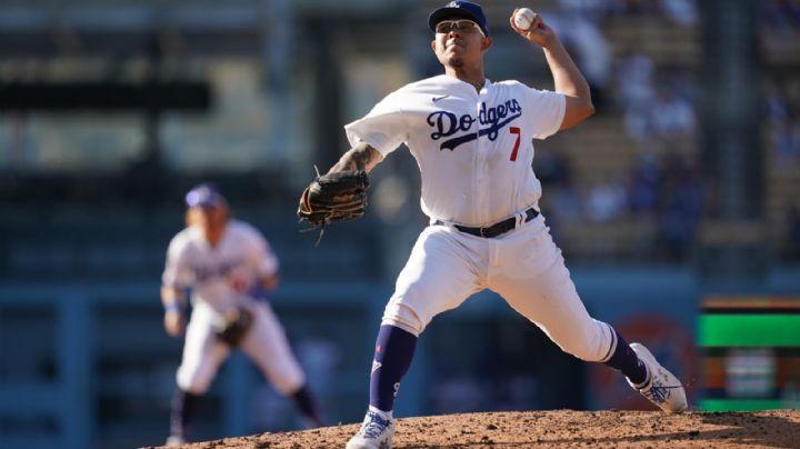 Julio Urías luce en la lomita; pero le falla el relevo y Dodgers caen ante Gigantes