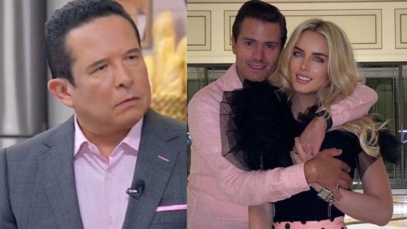 Gustavo Adolfo Infante confiesa en 'Sale el Sol' que Tania Ruiz, novia de Peña Nieto, le hizo 'el feo'