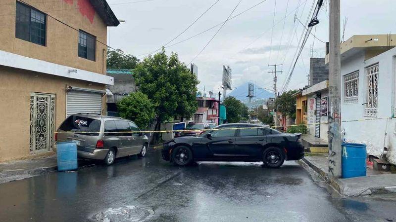 Joven es interceptado y ultimado a balazos por parte de gatilleros en Monterrey; le dieron en la cabeza