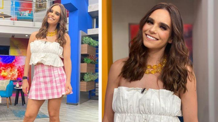 """Tania Rincón se despide de 'Guerreros 2021' con coqueto 'outfit' y así reacciona Televisa: """"Ay Dios"""""""