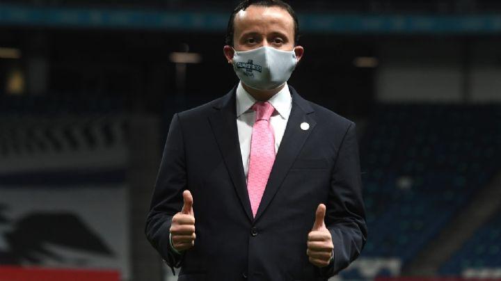 Apertura 2021: Mikel Arriola, presidente de la Liga MX, confirma que tiene Covid-19