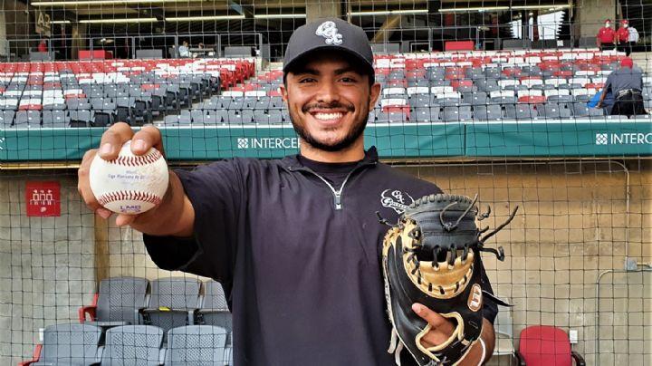 Miguel Ojeda Jr. buscará continuar el legado de su padre en el beisbol mexicano