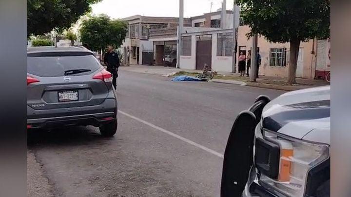 Tras persecución, gatilleros le arrebatan la vida a hombre en el centro de Ciudad Obregón