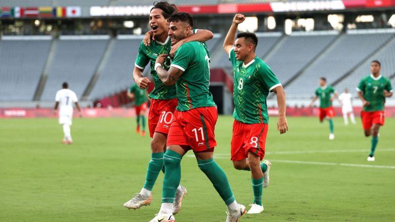 ¡Viva México! El Tri debuta con un triunfo en los Juegos Olímpicos de Tokio 2020 al golear a Francia