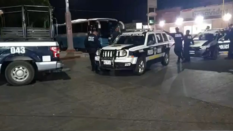 Terror en Ciudad Obregón: A primeras horas, sujeto armado ataca a pasajeros de un autobús