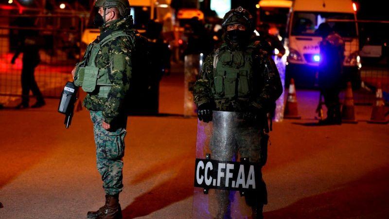 Motines simultáneos en prisiones de Ecuador dejan saldo de 18 fallecidos