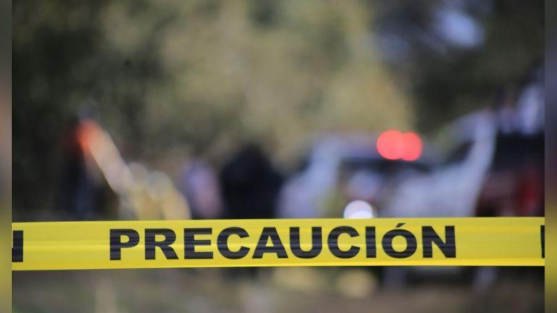Cortado en varios pedazos, localizan restos de un hombre dentro de costales en Zacatecas