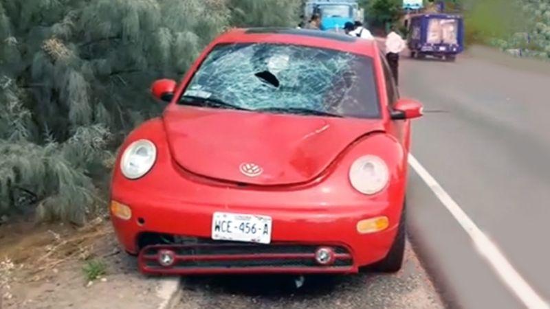 Menor de edad es fuertemente atropellada en Guaymas; fue hospitalizada de emergencia