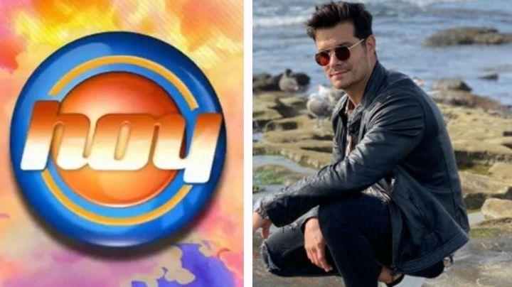 De 'VLA' a Televisa: Tras dejar TV Azteca, Brandon Peniche reaparece en 'Hoy' ¿y se une al programa?