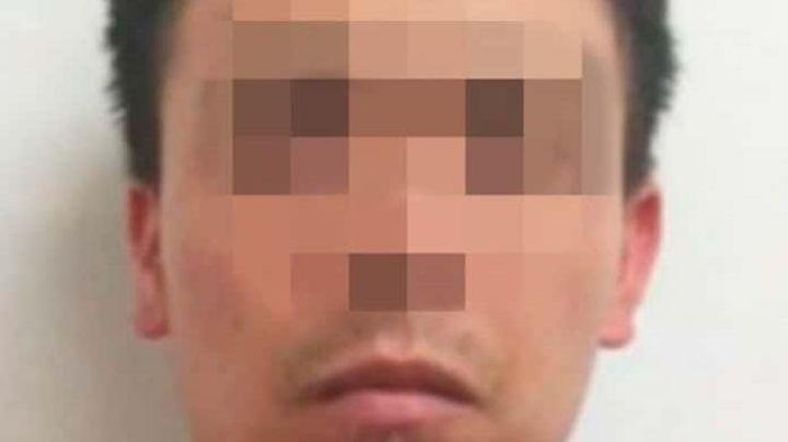 Él es Edgar Uriel, el joven de 25 años acusado de ultimar a balazos al pasajero de un taxi