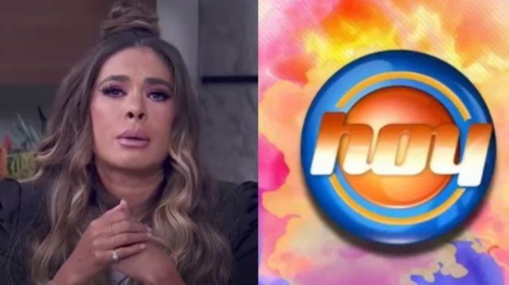 ¿Renuncia a Televisa? Al borde del llanto, Galilea Montijo deja en shock con fuerte anuncio en 'Hoy'