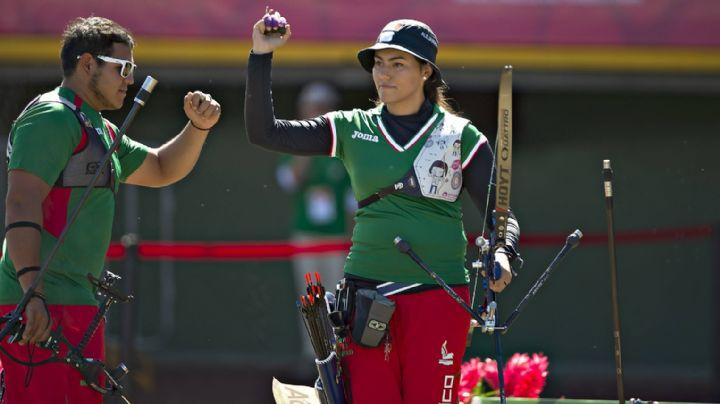Alejandra Valencia y Luis Álvarez avanzan a los cuartos de final en tiro con arco